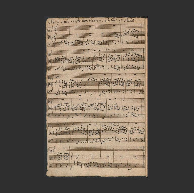 BWV 648. «Meine Seele erhebt den Herren»