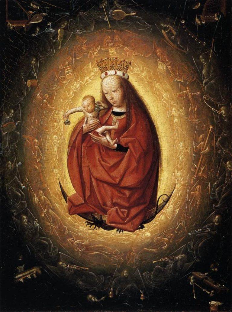 Дева Мария с младенцем Христом. 1480-е