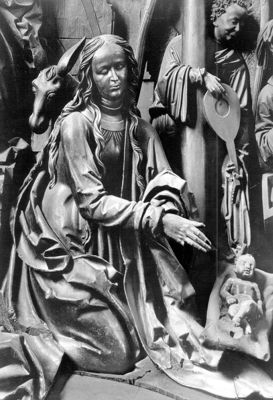 Фрагмент складного алтаря. 1523