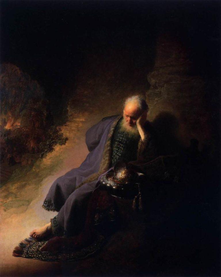 Иеремия, оплакивающий разрушение Иерусалима. Около 1630