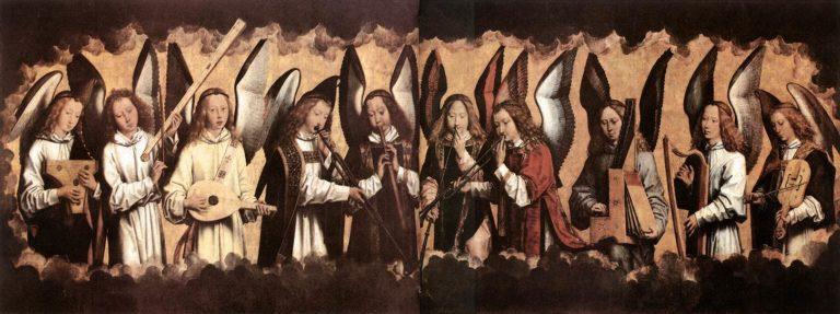 Музицирующие ангелы. 1480-е