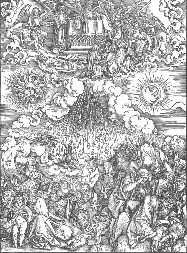 Откровение Иоанна Богослова- Снятие пятой и шестой печатей. 1497-1498