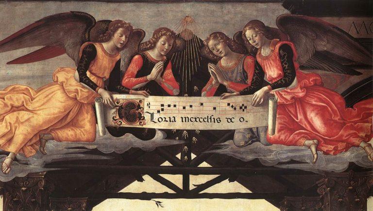 Поклонение волхвов (фрагмент). 1488