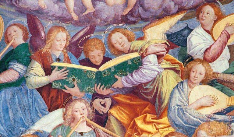 Славословие ангелов (фрагмент)