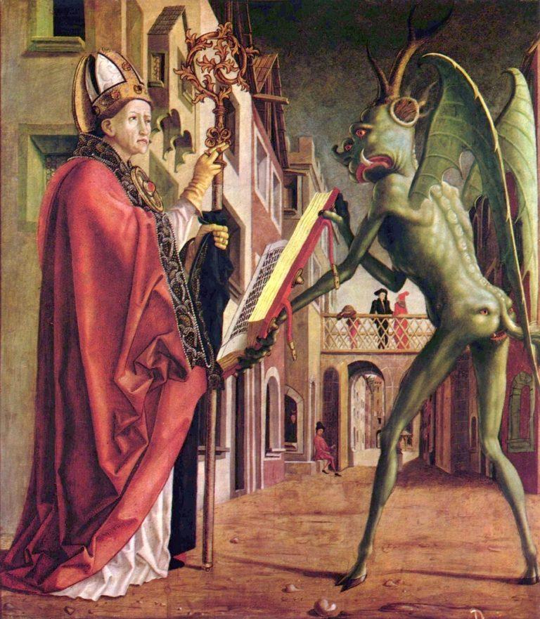 «Святой Августин и дьявол» (1471-75)