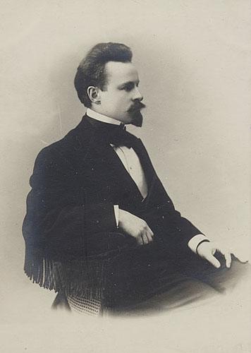 Константин Бальмонт в 1880-е годы