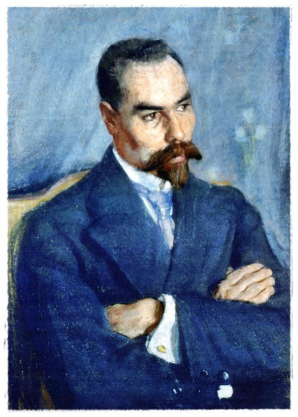Портрет Валерия Брюсова (1913)
