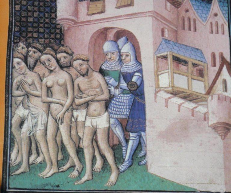 Катаров изгоняют из Каркассона, 1209 год
