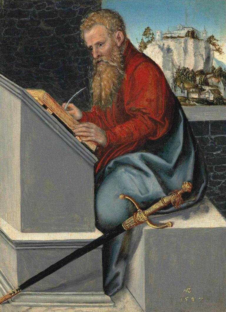 «Святой Павел в своем кабинете»