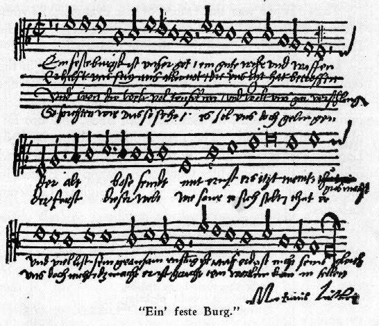 Гимны Мартина Лютера