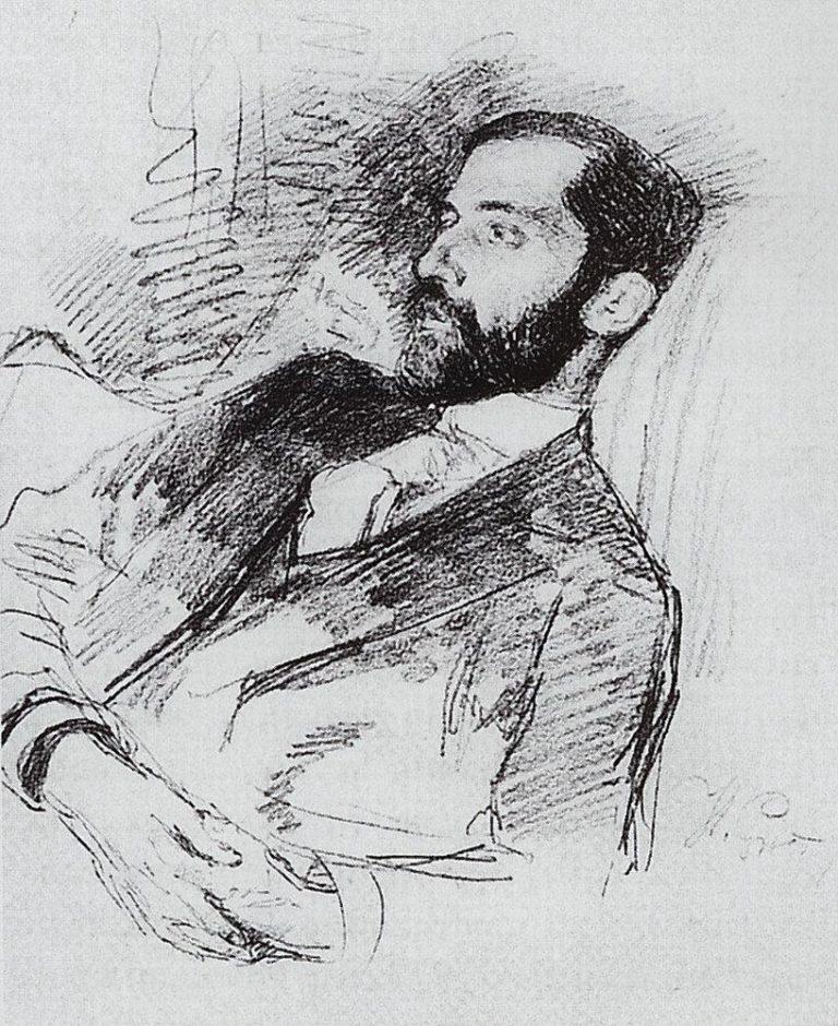 Портрет Д. С. Мережковского (ок. 1900)