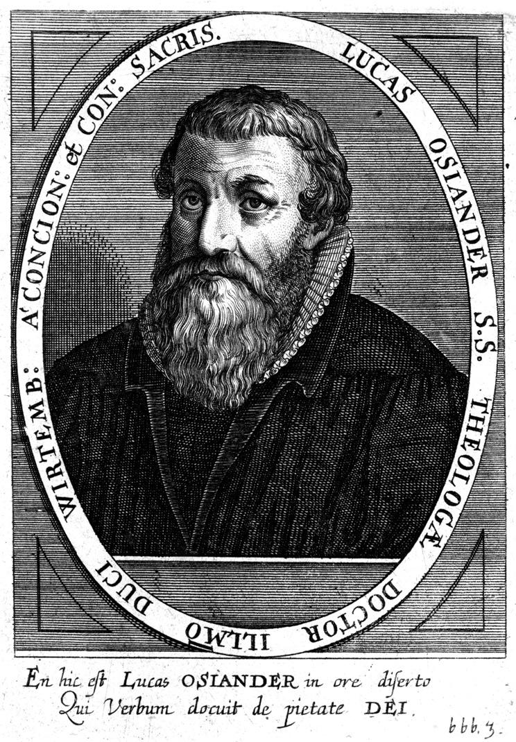 Лукас Озиандер Старший (Lucas Osiander; 1534 — 1604)