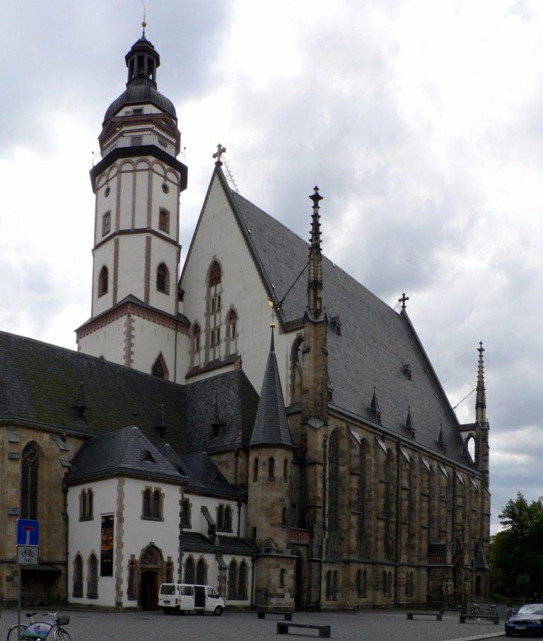 Церковь св. Фомы, г. Лейпциг