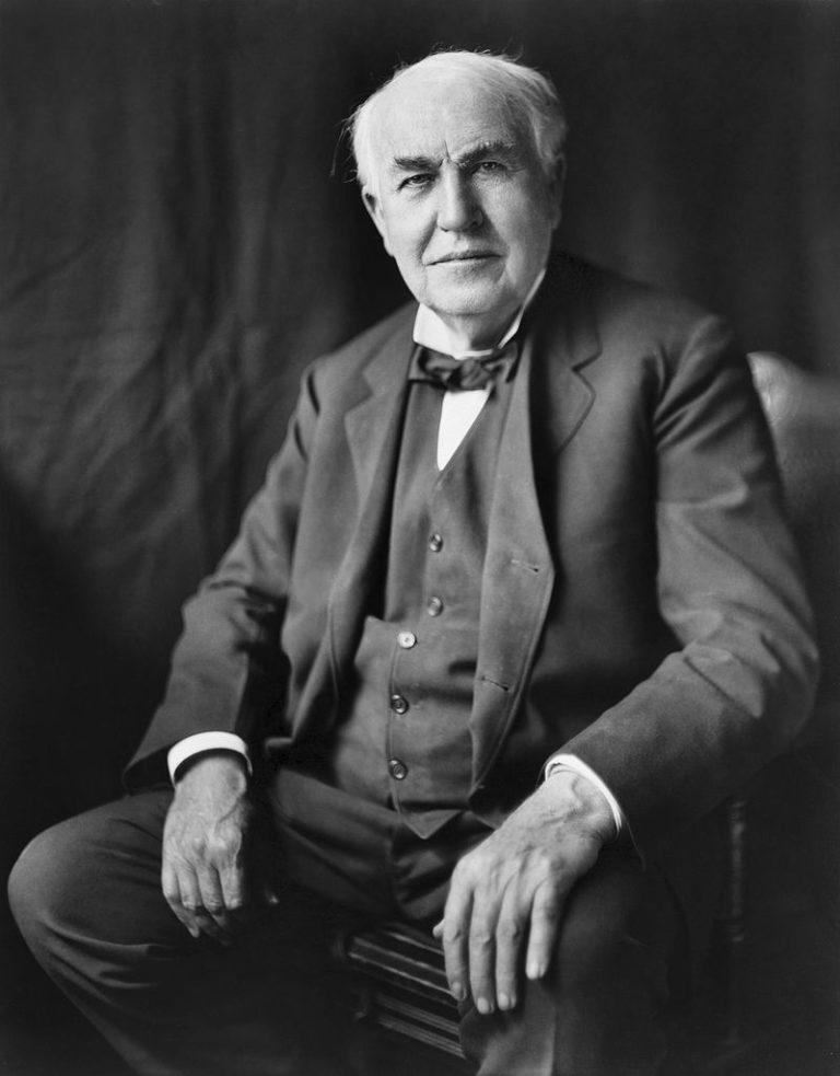 Томас Эдисон (1847 — 1931)