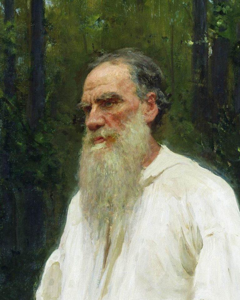 Лев Толстой в 1901 г.
