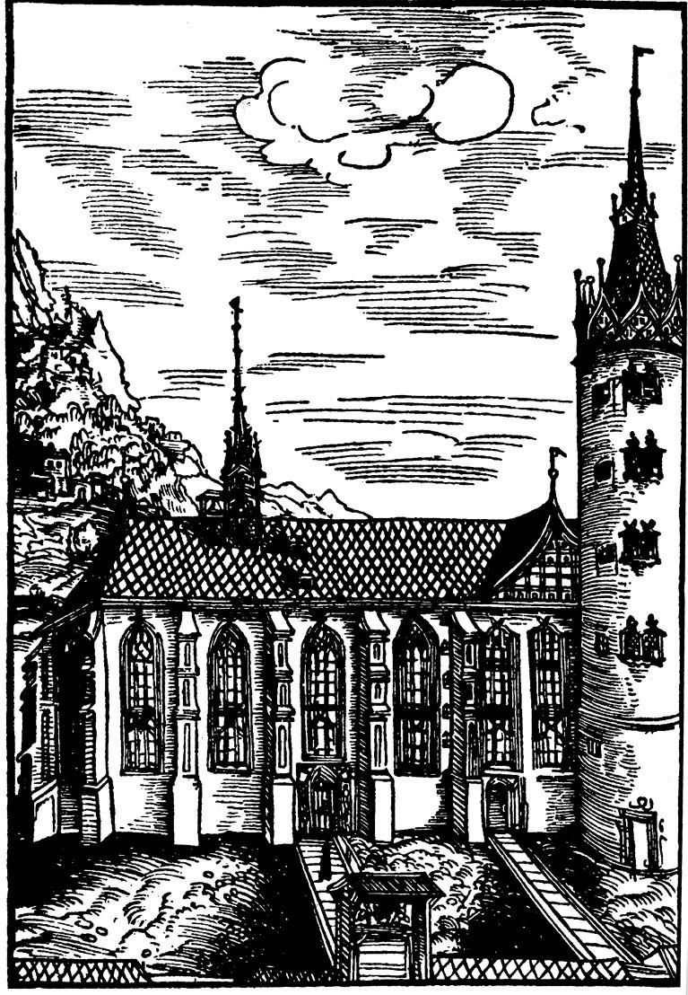 Собор в Виттенберге в эпоху Лютера