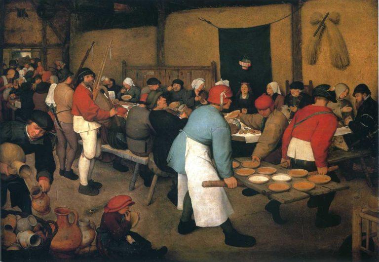 «Крестьянская свадьба» (1568)