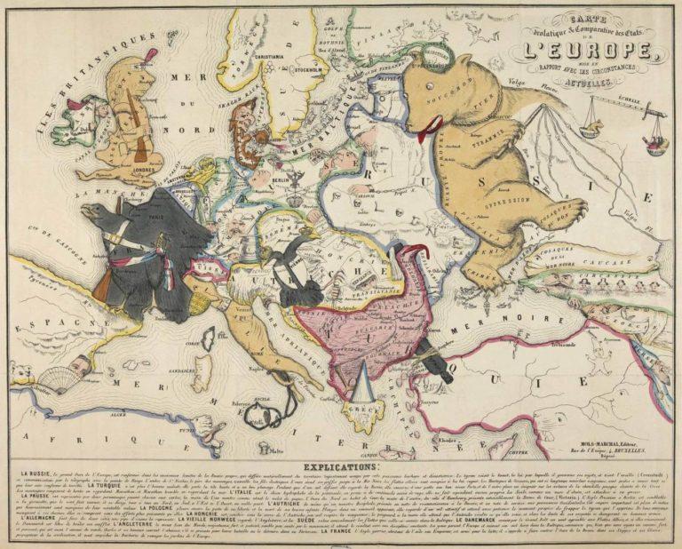 Европа в середине XIX века