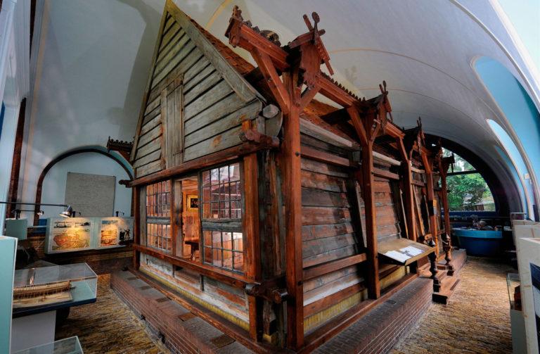 Деревянный дом Петра I в Голландии