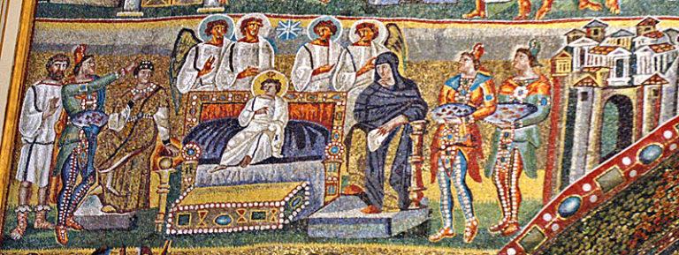 Мозаика церкви Санта-Мария-Маджоре
