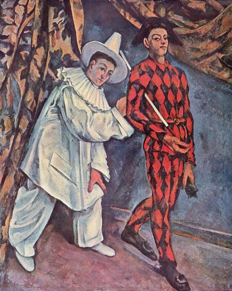 «Пьеро и Арлекин» (1888—1890)