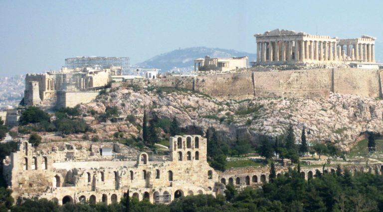 Афинский акрополь в наши дни