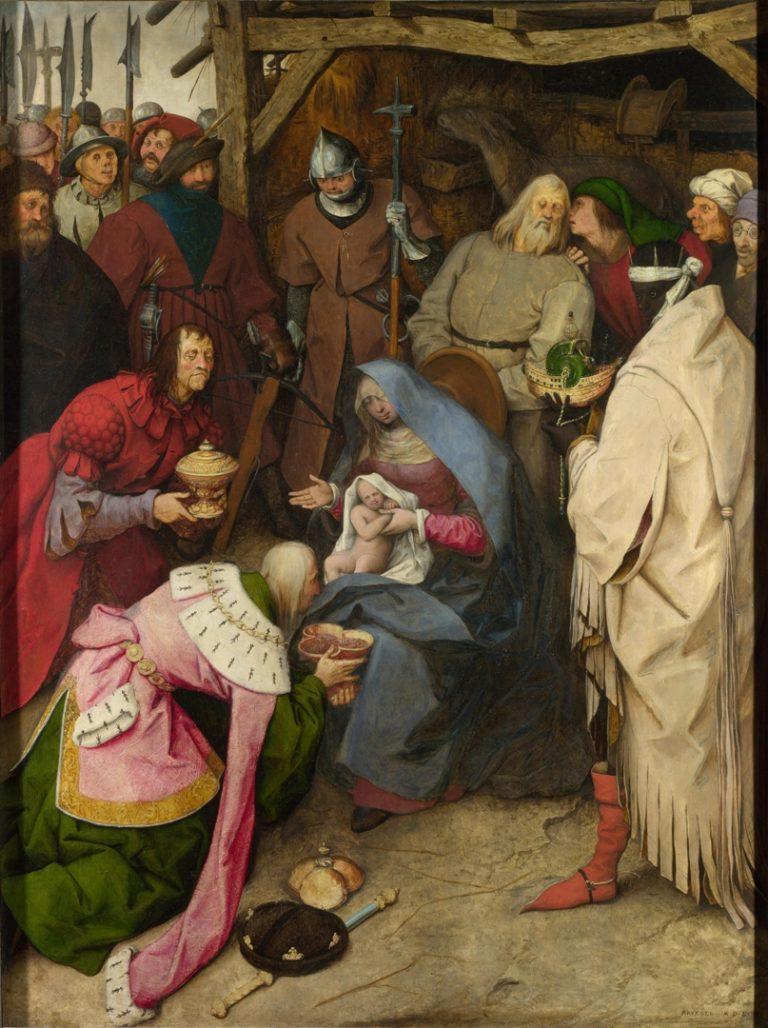 Поклонение волхов (1564)