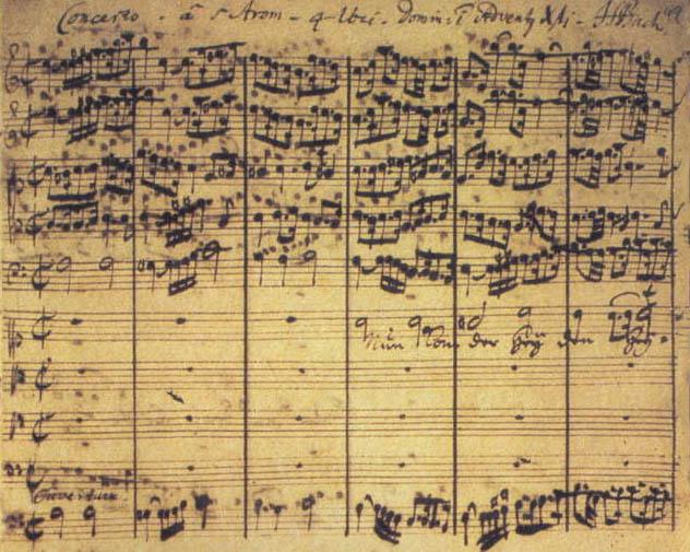 Партитура BWV 61