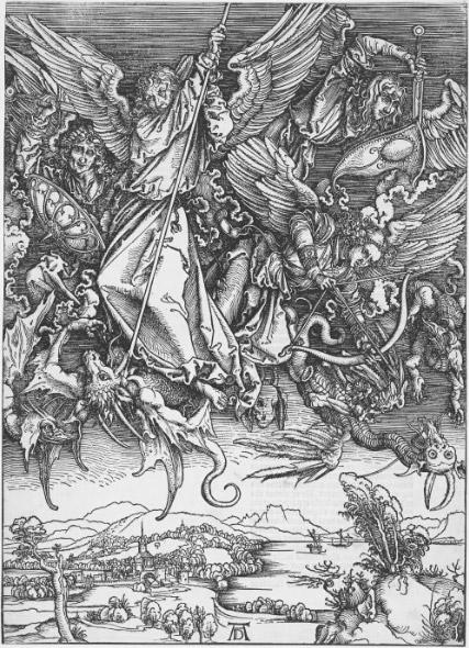 Битва архангела Михаила с драконом (1498)
