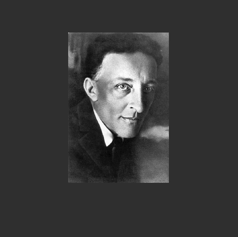 Александр Блок в 1921 году