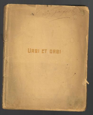 Валерий Брюсов. Urbi et orbi. 1903 г.
