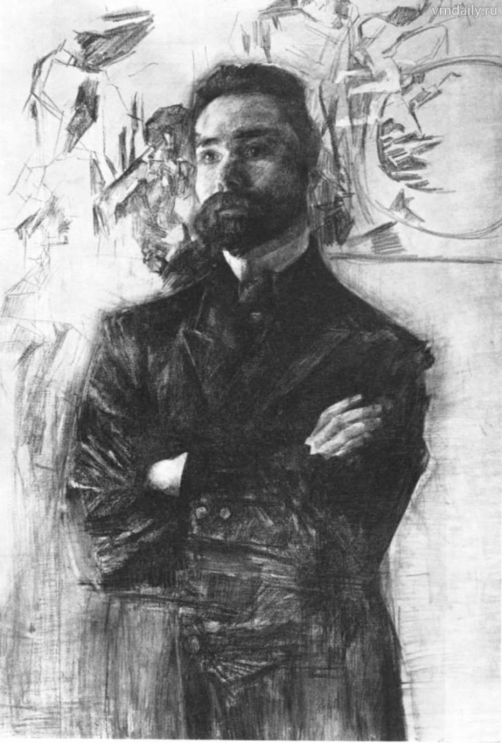 Портрет Валерия Брюсова (1906)