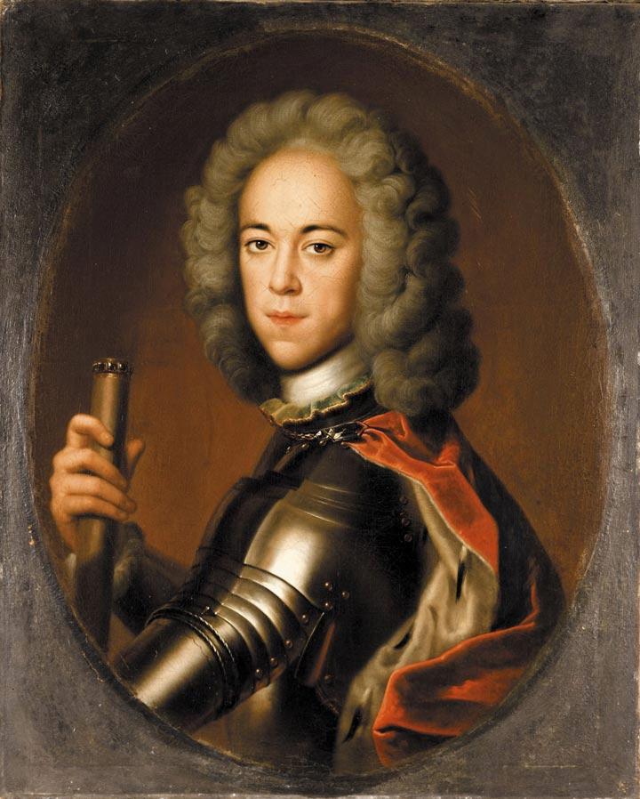 Портрет царевича Алексея Петровича в латах (1710 – 1718)