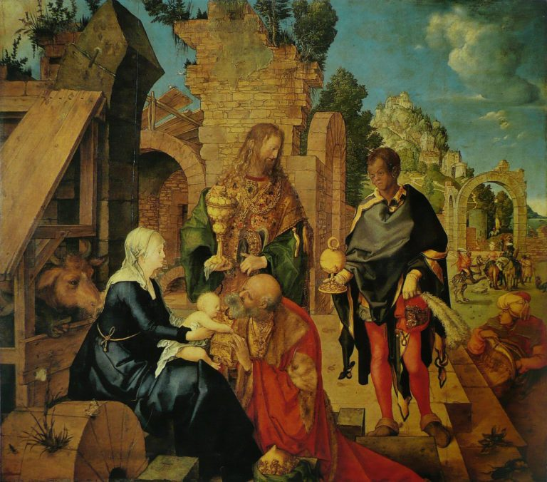 Поклонение волхов (1504)