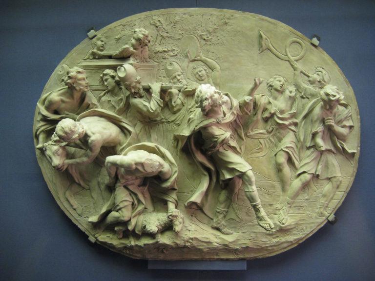 Царь Давид, танцующий перед ковчегом завета