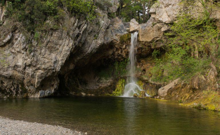 Водопады северной Эвии (Эвбеи)