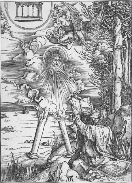 Иоанн, проглатывающий книгу (1498)