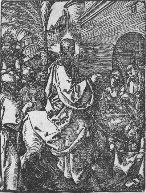 Вход Господень в Иерусалим (ок. 1508 – 1509)