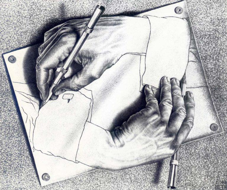 «Рисующие руки» (1948)