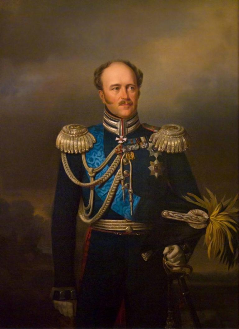 Портрет А.Х. Бенкендорфа в мундире Лейб Гвардсейского Жандармейского полуэскадрона (1840-е)