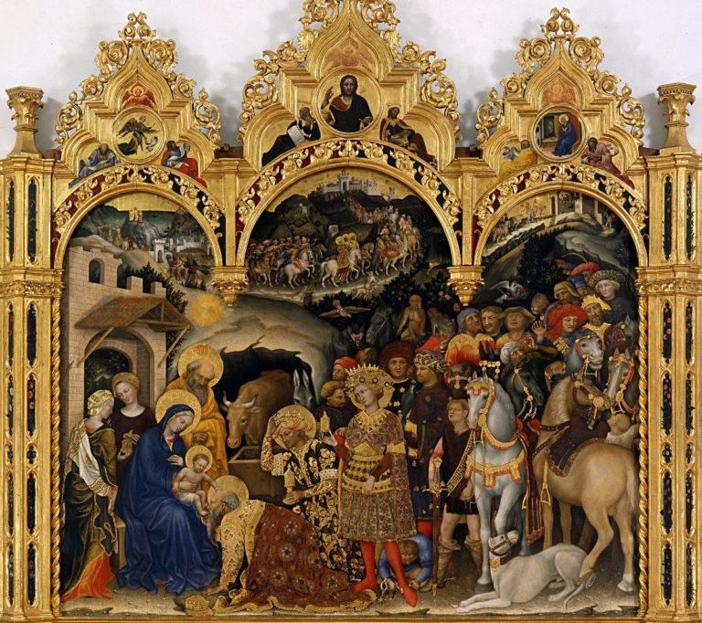Поклонение волхвов (1423), алтарный образ