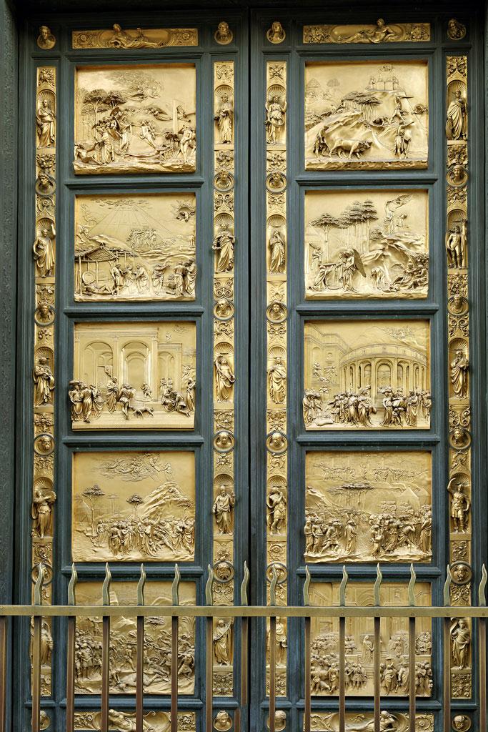 Восточные «Райские врата» флорентийского баптистерия (1401)