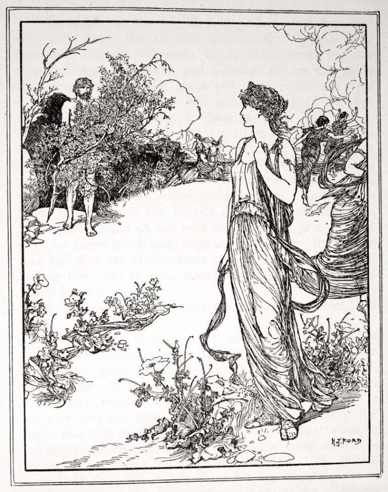 Одиссей встречает Навсикаю (1926)
