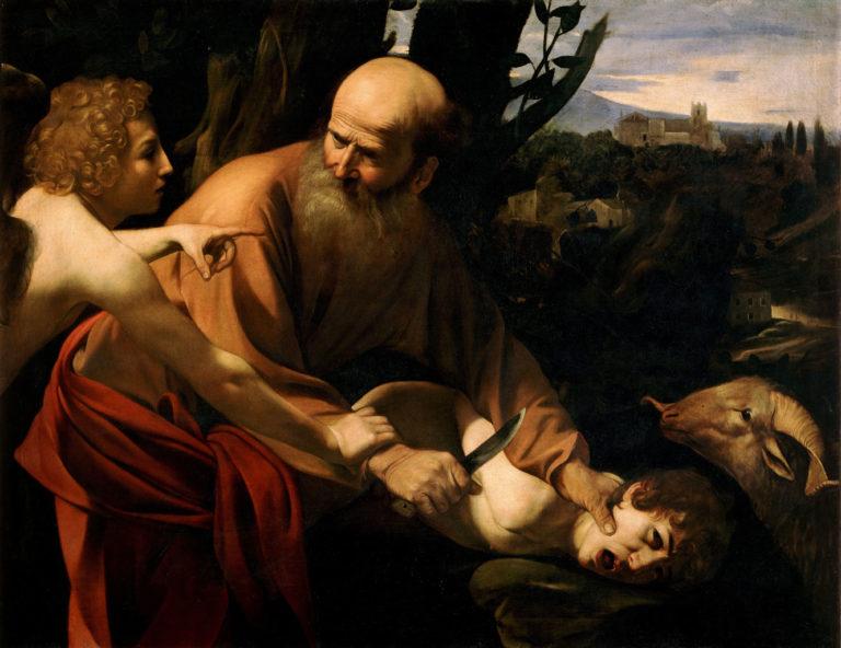 Жертвоприношение Исаака (1602)