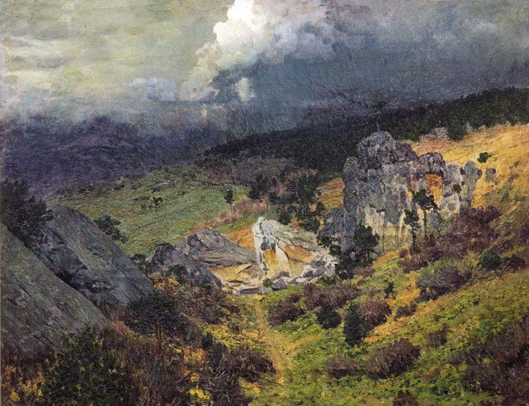 «В Крымских горах» (1886)