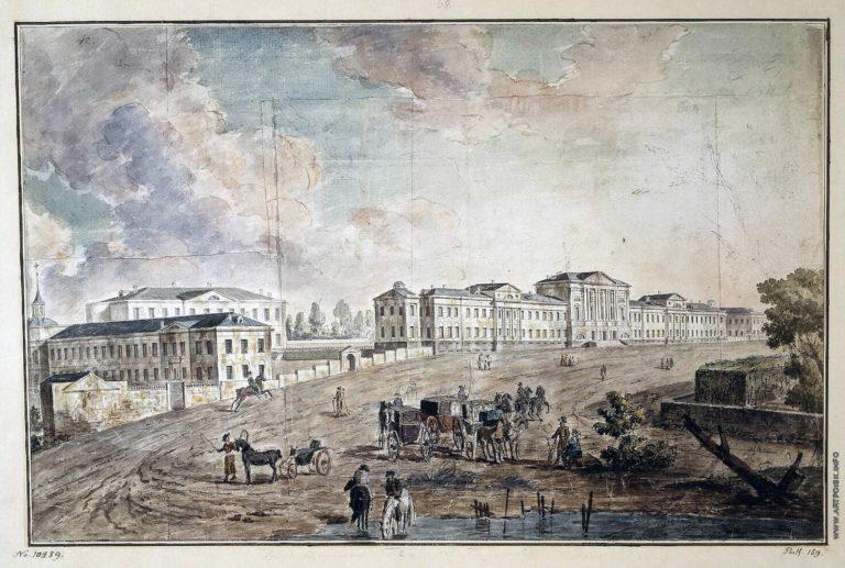 Алексеев Ф.Я. Военный госпиталь в Лефортове, 1800 год