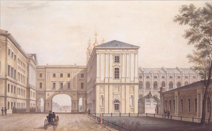 Лицей в 1822 г.