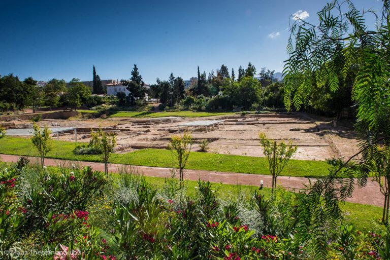 Археологические раскопки на месте Ликея Аристотеля