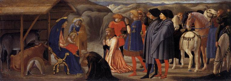 Поклонение волхвов (1425-1428)