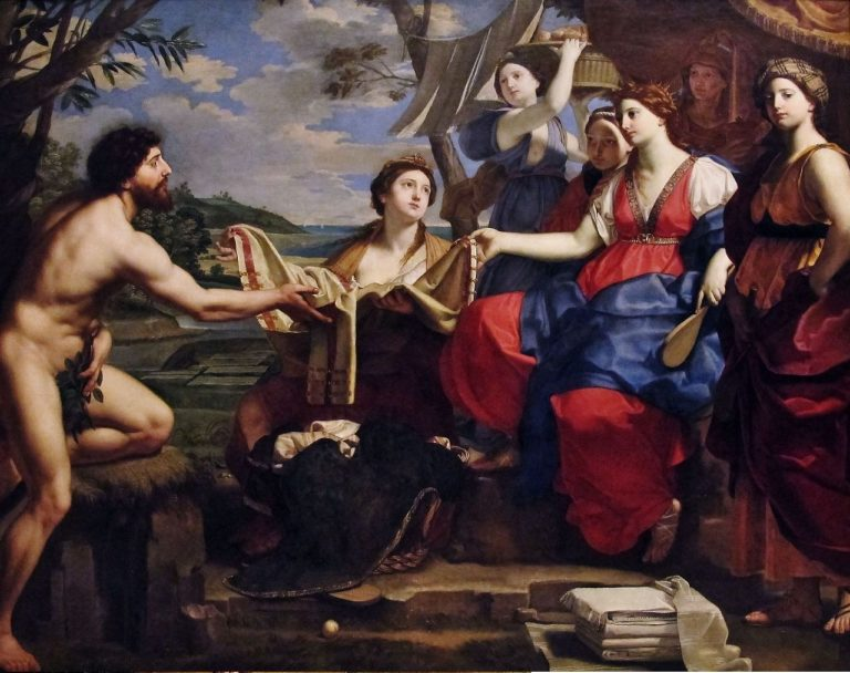 Одиссей и Навсикая